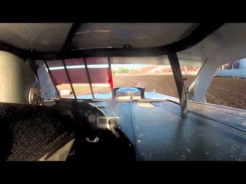 Modified Heat Race In Car Cam with Scott Bintz @ BRRP
