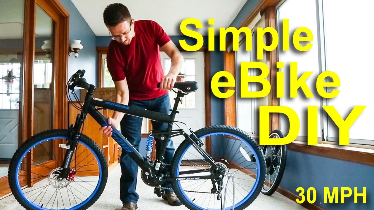 How To Make An Electric Bike For Under 500 Fast Cheap Ebike Tutorial