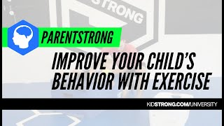 Improve Behavior Through Exercise