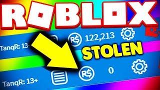all my robux got stolen... (not clickbait) | ROBLOX