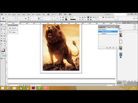 Adobe InDesign - Creating Epub File