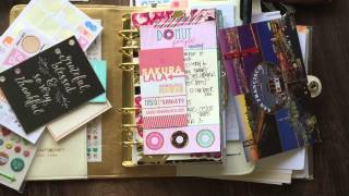 Plan with me and Color Crush Planner Set Up using Cocoa Daisy September Kit