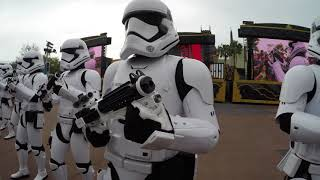 March of the First Order - Hollywood Studios