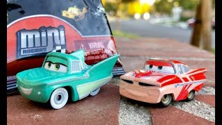 Disney Cars Mini Racers Blind Bags 🔴 Live Toy Unboxing - Wave 3 Mini Racers by FamilyToyReview