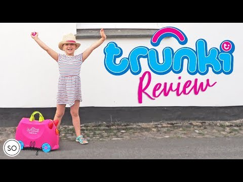 Trunki Ride On Suitcase Full Review 2019