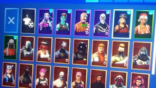 Fortnite renegade raider galaxy skin ghoul trooper purple skull trooper account