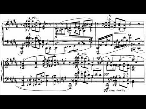 Vladimir Ashkenazy plays Scriabin sonata no. 1 Allegro con fuoco [1/4]