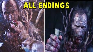 Blair Witch - ALL ENDINGS With Good & Bad Dog's Outcome