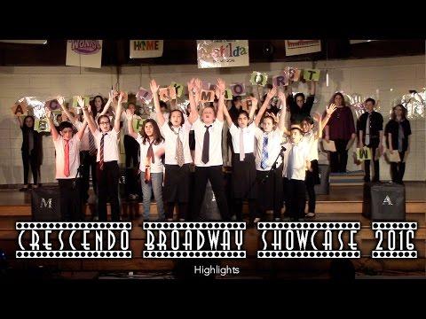 Crescendo Choir Broadway Showcase 2016 - Highlights - Richard Stockton Elementary School