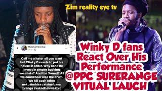 Fans React to winky D Performances @PPC SURERANGE VITUAL LAUCH (2020)