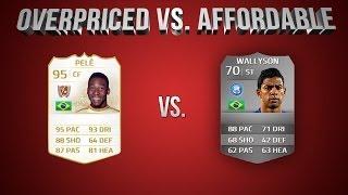 FIFA 14 | OverPriced vs Affordable: PÉLE vs WALLYSON!