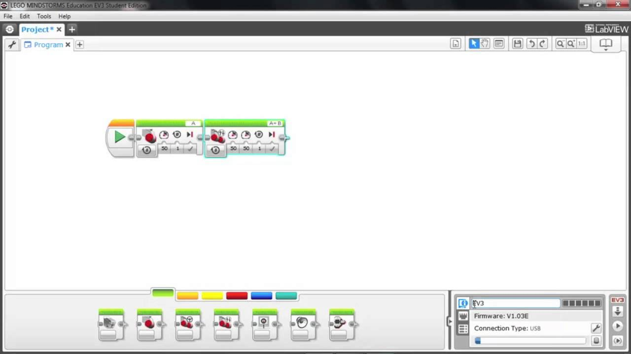 LEGO Mindstorms EV3 Software Overview - YouTube