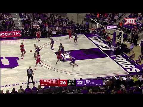 Texas Tech vs. TCU Men's Basketball Highlights