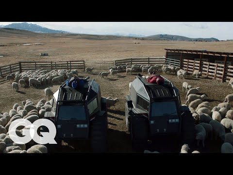 Kanye West On Transforming His Wyoming Ranch Into A Yeezy Campus Gq Youtube