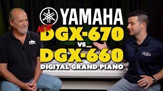 NEW Yamaha DGX-670 vs DGX-660 | Overview/Comparison & DEMO