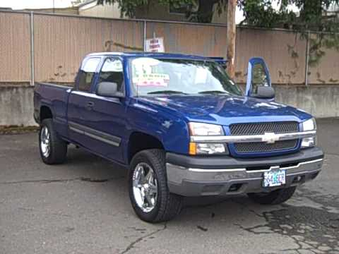 2004 Chevrolet Silverado 1500 Ls 4x4 4 8l 4x4 Double Cab