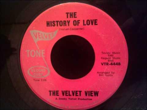 VELVET VIEW - YOU'RE MINE WE BELONG TOGETHER / THE HISTORY OF LOVE - VELVET TONE 444 - 12/68