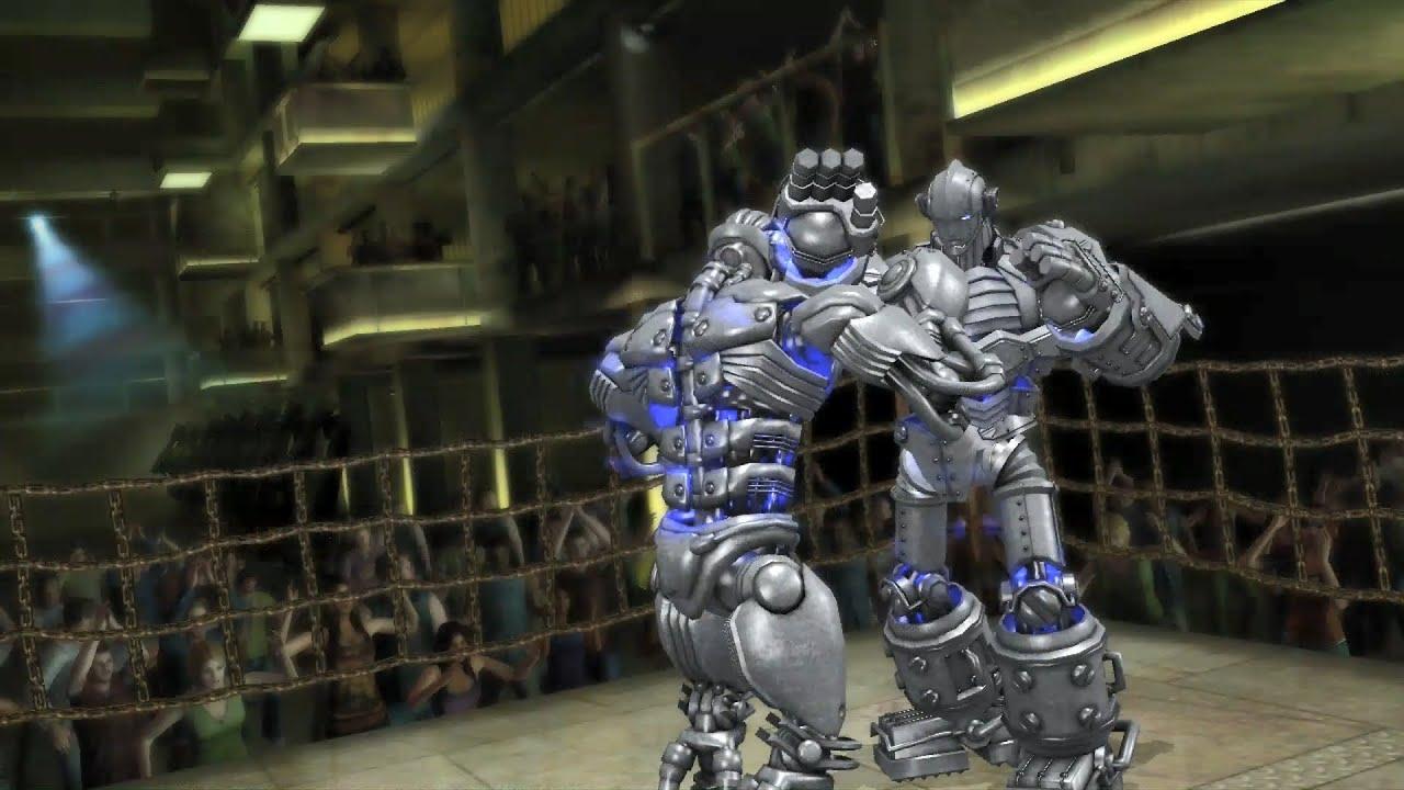 REAL STEEL THE VIDEO GAME - ПЕРЕЕХАЛ КАК КОТКОМ ) ROBOT GIGANT vs MEGATRON