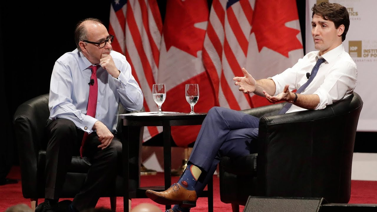 Trudeau interviewed by former Obama strategist Axelrod