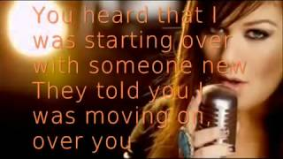 Repeat youtube video Stronger Kelly Clarkson Lyrics