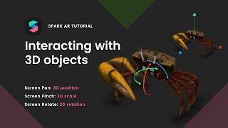 Spark AR: Interaktion mit 3D-Objekten
