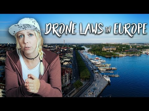 DRONE LAWS In EUROPE: Where And How Can You Legally Fly? (Germany, Austria, Malta \u0026 Sweden)