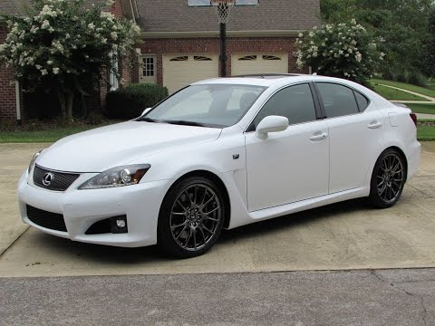 2014 Lexus IS-F Start Up, Exhaust, Test Drive, and In Depth Review
