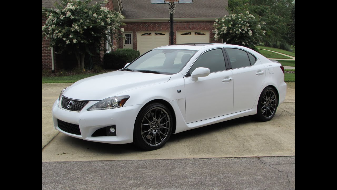 2014 Lexus IS-F Start Up, Exhaust, Test Drive, and In Depth Review ...