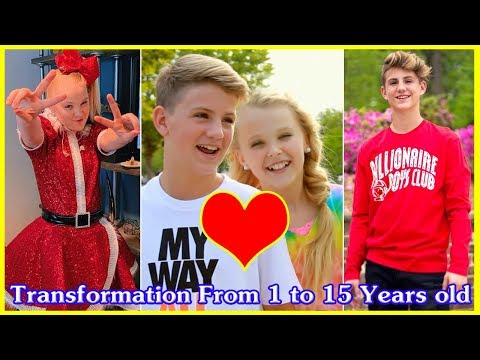 Jojo Siwa vs MattyB transformation From 1 to 15 Years old