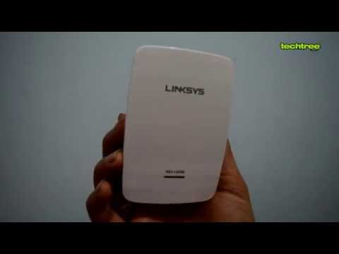 Linksys N600 (RE4100W) WiFi Range Extender - Unboxing Video