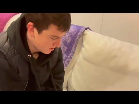 Юсуп Алиев в гостях у Юлии Романчёвой в Уфе|Юсуп Алиев с Юлией Романчёвой|Празднуют новый год