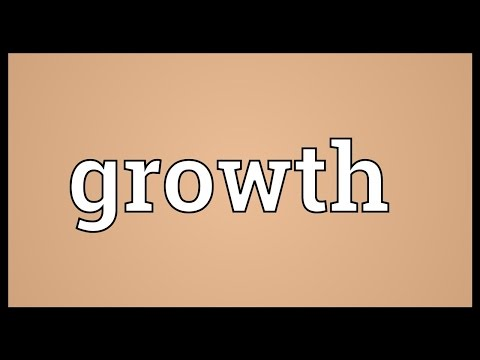 Growth Meaning