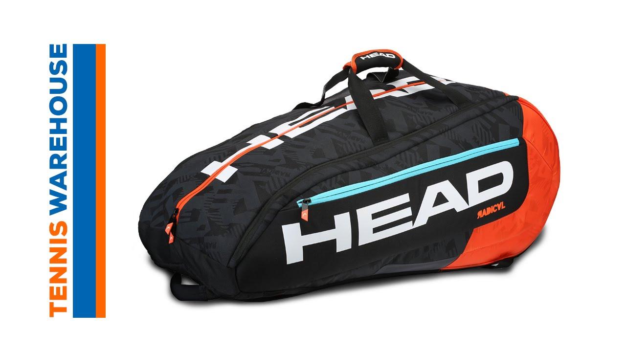 Head Tennis Bag >> Head Murray Radical Series 12R Monstercombi Bag - YouTube