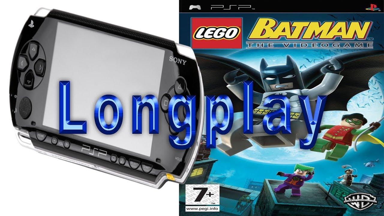 Lego Batman: The Videogame psp longplay PPSSPP emulator ...