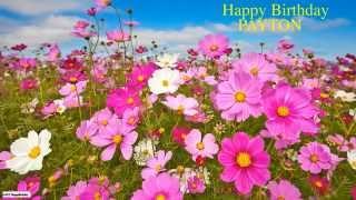Payton  Nature & Naturaleza - Happy Birthday
