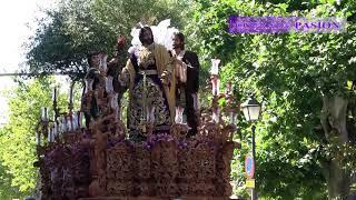 Jesús en su Prendimiento por la Alameda Marqués de Comillas (Via Crucis Diocesano Cádiz 2018)