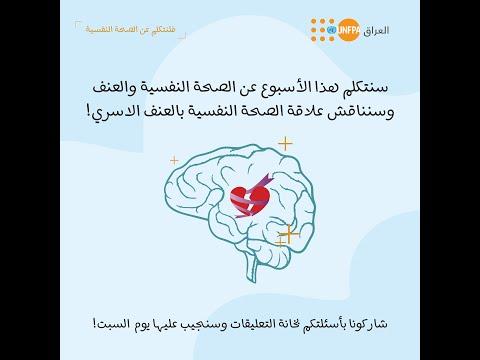 لنتكلم عن الصحة النفسية - الصحة النفسية والعنف القائم على النوع الاجتماعي (الجلسة الرابعة)