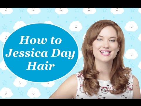 Jessica Day Hair S4 Ep1 New Girl How To The Rachel Dixon Tutorial Retro Vintage Inspired
