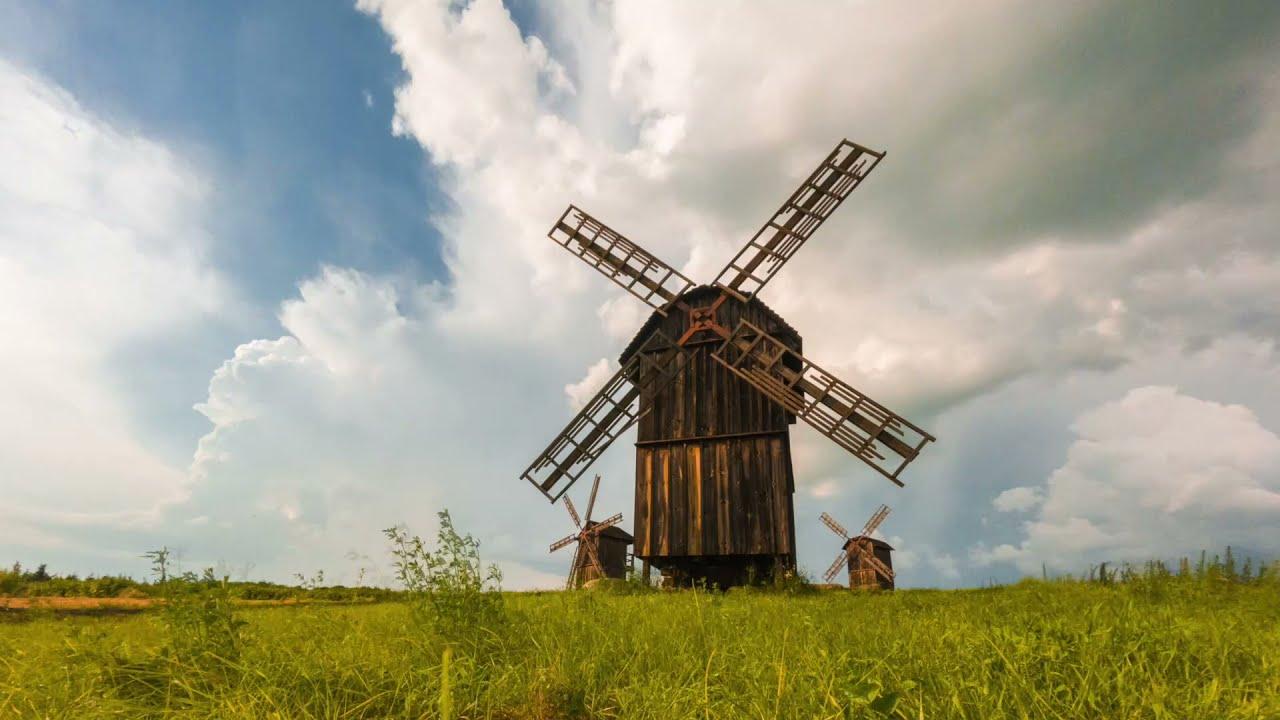 Windmills. Vodyaniki.