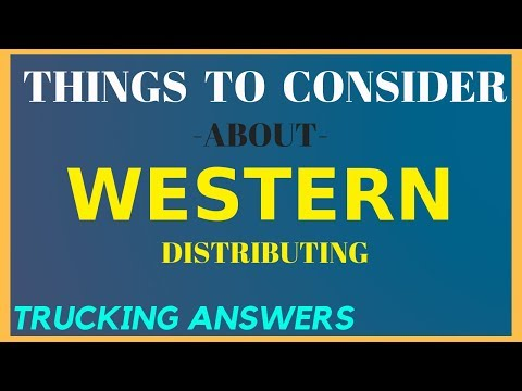 Company Of The Week Western Distributing