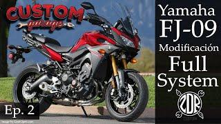 Yamaha FJ-09 Modificación Full System | Remoción de Catalizador | Custom Garage