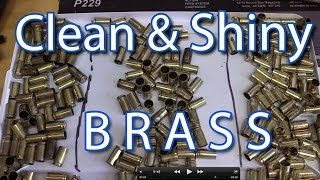 Brass Case Cleaning Experiment