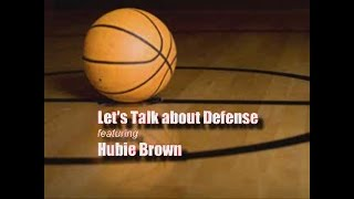 Hubie Brown Clinic: Defense Day 1 Changing Defenses