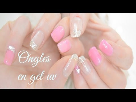 tuto pose ongles gel uv capsules french couleur toute seule youtube. Black Bedroom Furniture Sets. Home Design Ideas