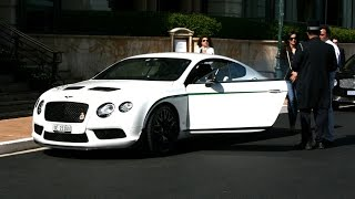 Bentley Continental GT3-R Start Up in Monaco
