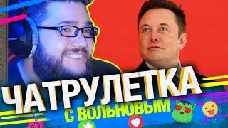 Дед разоблачил Илона Маска в Чатрулетке с Вольновым