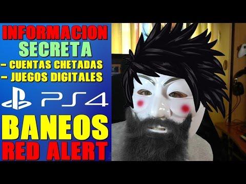 IMPORTANTE!!!CUENTAS CHETADAS - BANEOS - JUEGOS DIGITALES - PS4 - PS PLUS GRATIS