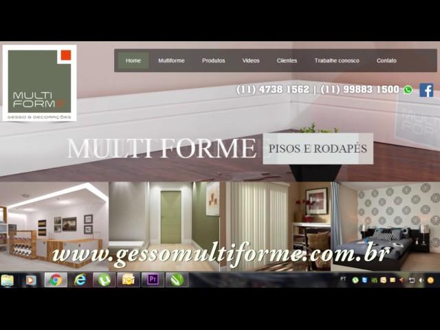 Multiforme Gesso e Decorações