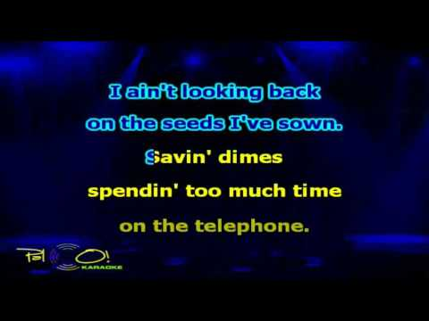 Bon Jovi, Jennifer Nettles   Who Says You Can't Go Home - Karaoke
