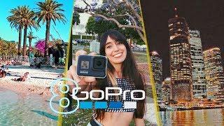 🤯 GoPro HERO 8 a 4k!! Como es BRISBANE ? City Tour⚡️ Hypersmooth 2.0